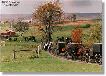 The Amish Church District