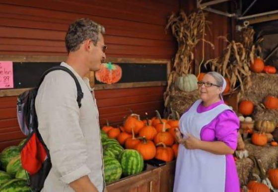 Pinecraft Amish Community on Ukrainian Travel Show Орёл и Решка (Video)