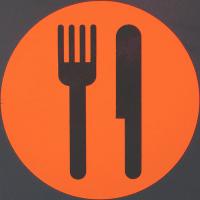 SMV Food Sign
