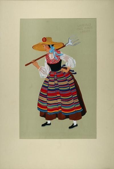 Alsatian Peasant Woman
