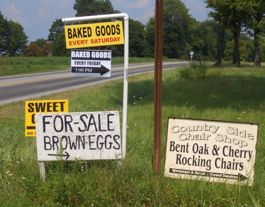 amish baked goods