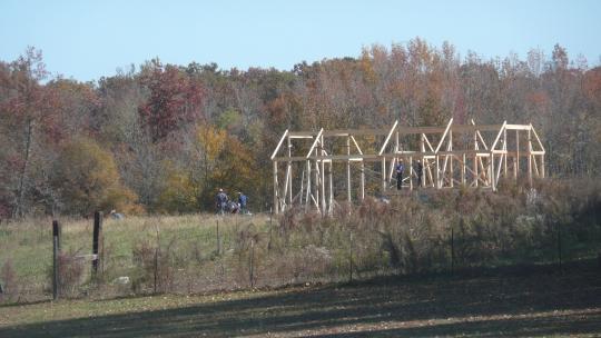 amish barn raising tennessee