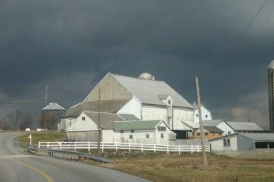 Amish Barns Pennsylvania
