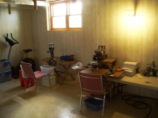amish basement workshop