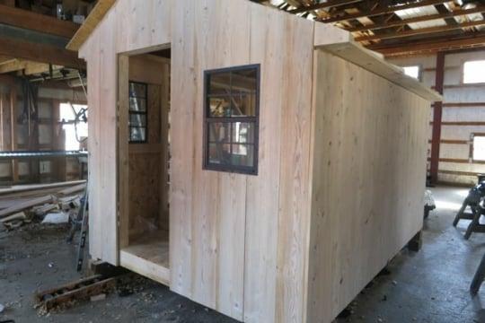 Amish Board Batten Building