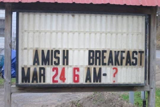 Amos Hertzler Benefit Breakfast