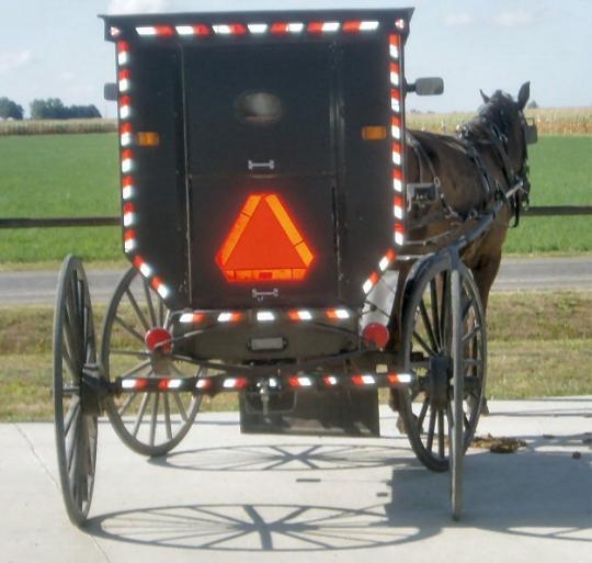 amish buggy reflectors