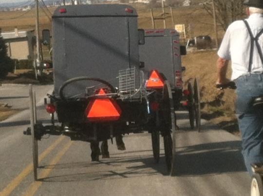 Amish Buggy Traffic