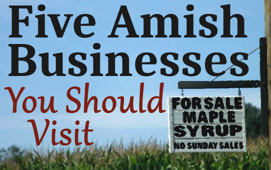 Amish Businesses Worth Visiting