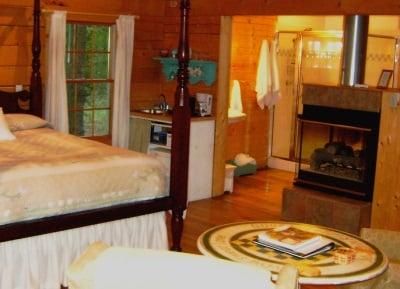 Amish Cabin Interior