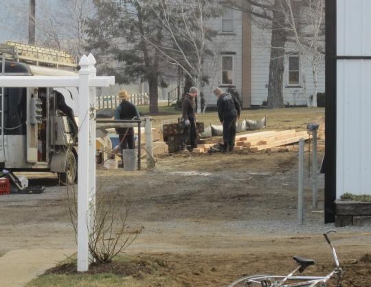 Amish Carpentry Crew