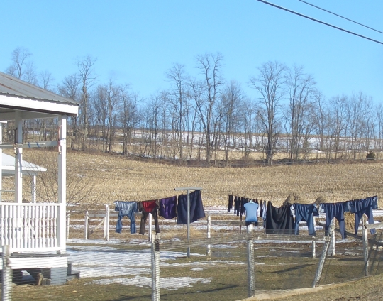 amish clothesline big valley
