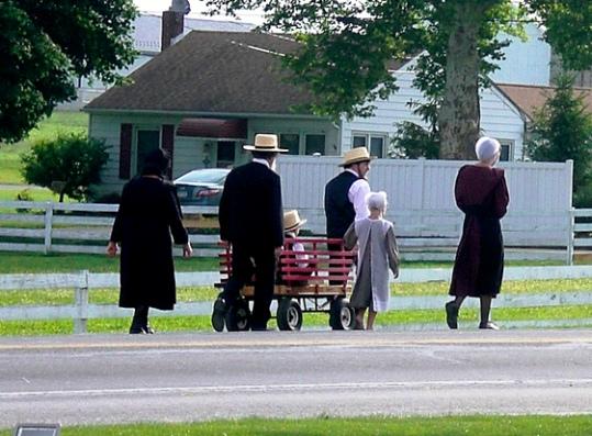 amish community church family