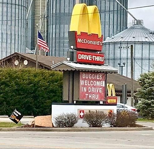 Coronavirus Update (8 States): Ohio Church Canceled; Indiana McDonald's Welcomes Amish