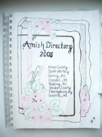 amish directory