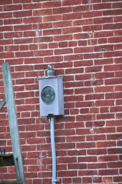 Amish Electric Meter