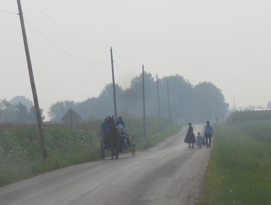 10 views of the Adams County, Indiana Amish