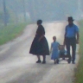 Amish Family Leaving