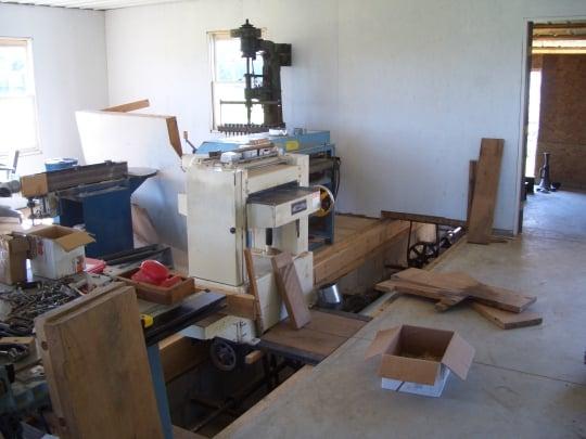 amish furniture equipment