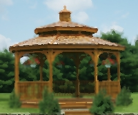 Amish Furniture Gazebo