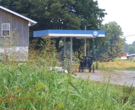 amish gas station