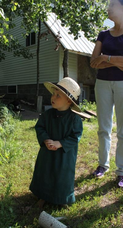 Amish Grandson