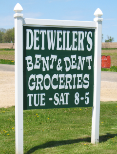 Would you buy food from an Amish salvage store?