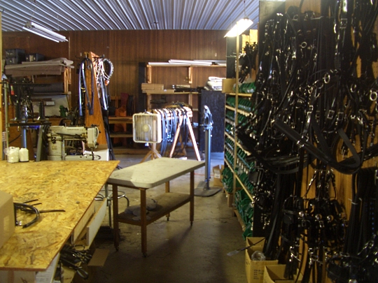 amish harness workshop