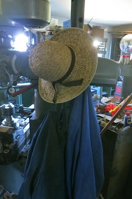 Amish Hat Hanging