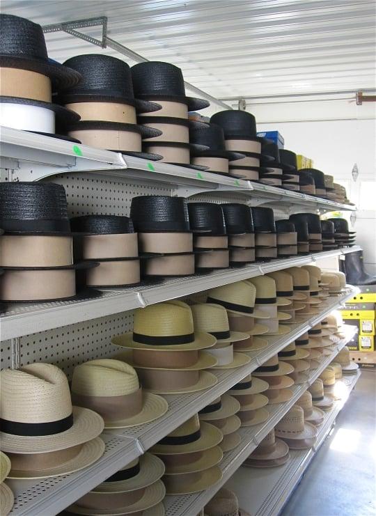 amish hats nappanee