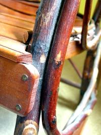 amish hickory rocker