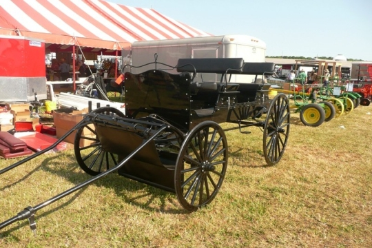 Amish Horse Drawn Equipment
