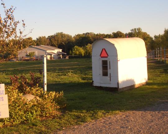 amish indiana school shack