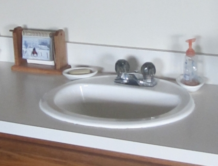 Inside an Amish Home: Second Sink
