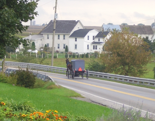 Lancaster Amish Moving Into Towns & Subdivisions