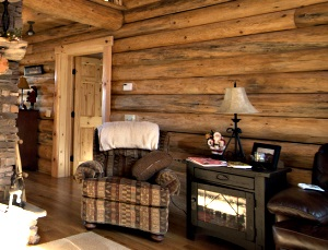 Amish Log Home MI
