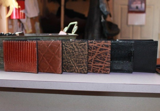 Amish-made Leather Wallets