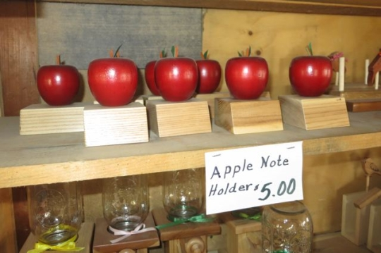 Amish Made Wooden Apples
