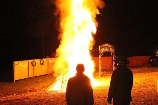 Amish Mafia Fire