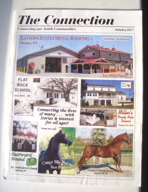 amish magazine the connection
