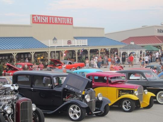 Cruise Night at Shrewsbury Amish Market