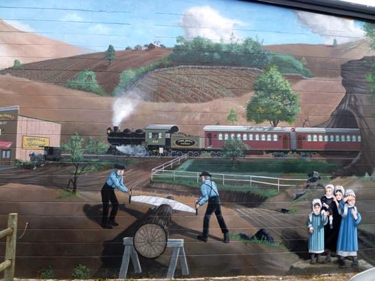 amish mural florida