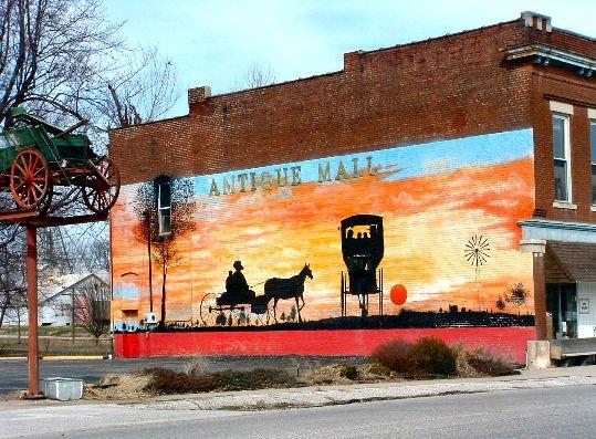 amish mural indiana
