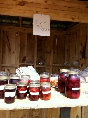 Amish NY Canned Goods