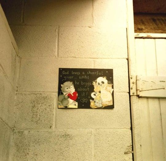 amish outhouse decoration