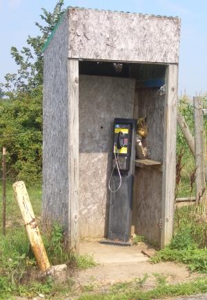 amish pay phone