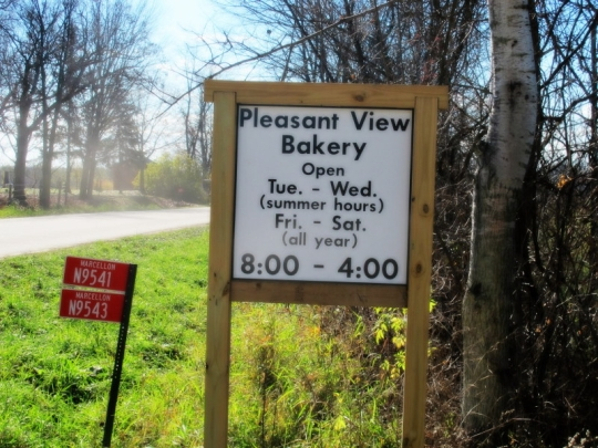 Amish Pleasant View Bakery