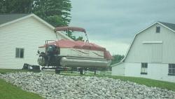 Amish Pontoon Boat