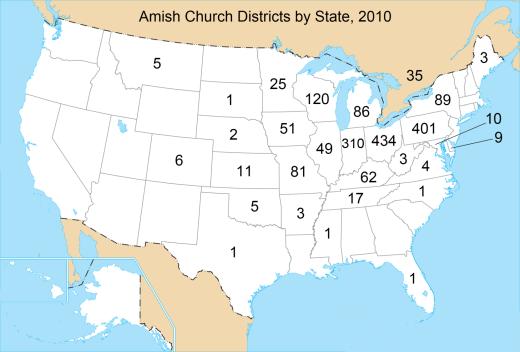 amish population map states