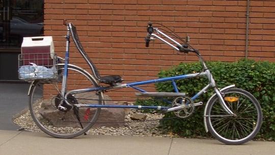 amish recumbent bike